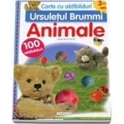 Cartea cu abtibilduri (3-4 ani). Ursuletul Brummi - Animalele. Contine 100 de abtibilduri