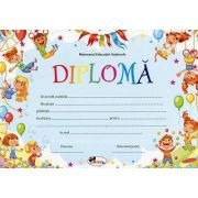 Diploma - Format A4, model imagine baloane