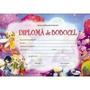 Diploma - Format A4, model imagine bobocel, zane
