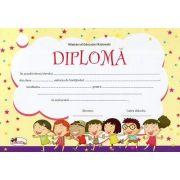 Diploma - Format A4, model imagine copii