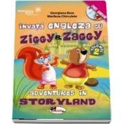 Georgiana Bose, Invata engleza cu Ziggy si Zaggy. Adventures in Storyland, volumul 2 (contine DVD)