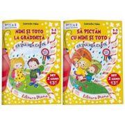 Laurentia Culea, Set educational 2 caiete pentru anteprescolari (2-3 ani). Colectia Mimi si Toto