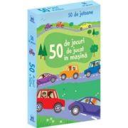 50 de jocuri de jucat in masina - Contine 50 de jetoane
