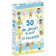 50 de jocuri de jucat in vacanta - Jetoane (Contine 50 de jocuri)