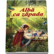 Alba ca zapada - cu ilustratii - Format A4 (Grimm Fratii)
