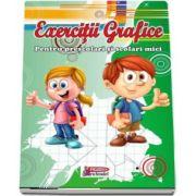 Caiet de exercitii grafice - Pentru prescolari si scolari mici