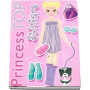 Colectia Princess TOP - Stickers (roz)