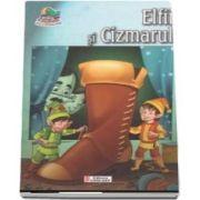 Elfii si Cizmarul. Carte de colorat si poveste (Colectia Creionul fermecat)