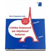 Limba franceza pe intelesul tuturor - Fise de lucru pentru gimnaziu, L2 de Voda Adina Magdalena