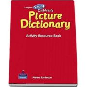 Longman Young Childrens Picture Dictionary - Activity Resource Book de Carolyn Graham