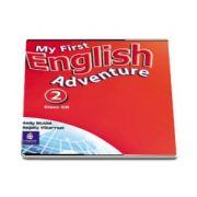My First English Adventure 2 Class CD de Mady Musiol