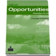 New Opportunities Intermediate Power Book Pack de Elizabeth Sharman