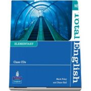 New Total English Elementary Level Class Audio CD de Mark Foley