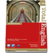 New Total English Intermediate Level Students Book with Active Book Pack de Rachael Roberts