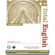 New Total English Intermediate Level Workbook with Key and Audio CD de Anthony Cosgrove