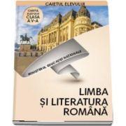 Limba si literatura romana, caietul elevului pentru clasa a V-a (Cristian Moroianu)