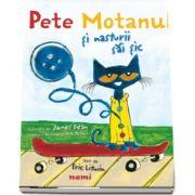 Pete Motanul si nasturii sai sic cu Ilustratii de James Dean (Creatorul personajului Pete Motanul)