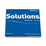 Solutions Advanced Class Audio CDs (3 CDs) 2nd Edition de Tim Falla