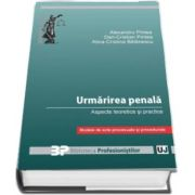 Urmarirea penala. Aspecte teoretice si practice - Modele de acte procesuale si procedurale de Alexandru Pintea