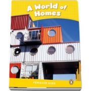 A World Of Homes - Penguin Kids CLIL 6 de Taylor Nicole