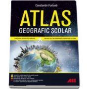 Atlas geografic scolar de Constantin Furtuna (Editia a III-a)