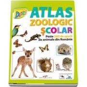 Atlas zoologic scolar - Peste 200 de animale din Romania
