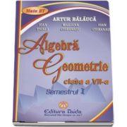 Artur Balauca, Auxiliar de Algebra si Geometrie pentru clasa a VII-a semestrul I (Editie 2012)