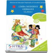 Limba moderna Germana, CD AUDIO pentru Clasa a I, partea I si partea a II-a (M. G. Bertarini, A. Hallier, P. Iotti, S. Peristeubing)