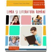 Limba si literatura romana, manual pentru clasa a V-a de Geanina Cotoi