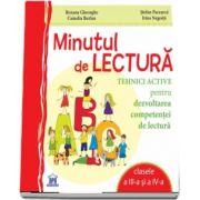 Stefan Pacearca, Minutul de lectura. Tehnici active pentru dezvoltarea competentei de lectura, clasele a III-a si a IV-a