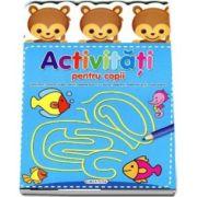 Activitati pentru copii. Labirinturi, colorat dupa coduri, desene punct cu punct, operatii matematice si multe altele!