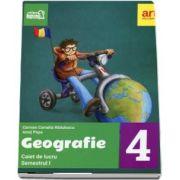 Geografie. Caiet de lucru pentru Clasa a IV-a - Semetrul I (Colectia, Arthur la scoala!) de Carmen Camelia Radulescu