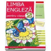 Limba engleza caiet, pentru clasa a II-a - Vocabular, exercitii, jocuri, poezii, cantece, transcriere fonetica (Editia 2017)