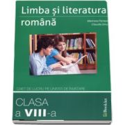 Limba si literatura romana, caiet de lucru pe unitati de invatare, pentru clasa a VIII-a (Marinela Pantazi)
