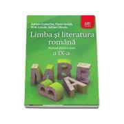 Limba si literatura romana manual pentru clasa a IX-a, Adrian Costache