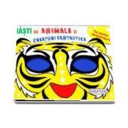 Masti de Animale si Creaturi Fantastice cu multe abtibilduri