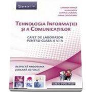 Tehnologia Informatiei si a Comunicatiilor, Caiet pentru clasa a VI-a (Carmen Minca)
