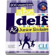ABC - DELF - Niveau A2. Junior scolaire - Livre si cederom. 200 exercices - DVD - rom audio et video inclus (Lucile Chapiro)