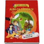 Alba-ca-zapada si cei sapte pitici - Povesti cu puzzle (Contine 6 puzzle-uri)