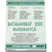 Bacalaureat Matematica 2018 de Catalin Cristea