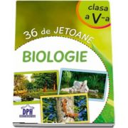 Biologie - 36 de jetoane - Clasa a V-a (Te poti juca singur, cu prietenii sau impreuna cu familia)