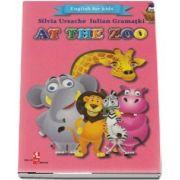 English for kids - At the zoo (Contine 16 cartonase cu imagini color) de Silvia Ursache