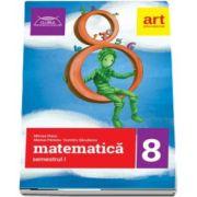 Matematica culegere pentru clasa a VIII-a, semestrul I - Colectia clubul matematicienilor de Marius Perianu (2017-2018)