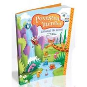 Povestea literelor. Alfabetul din povesti - Jocuri educative si activitati distractive pentru clasa pregatitoare (Contine CD cu soft educational)