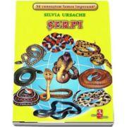 Serpi - Sa cunoastem lumea impreuna! (Contine 16 cartonase cu imagini color) de Silvia Ursache