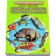 Soparle, crocodili, salamandre, tritoni - Sa cunoastem lumea impreuna! (Contine 16 cartonase cu imagini color) de Silvia Ursache