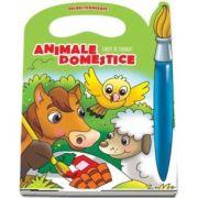 Animale domestice. Carte de colorat - Colectia Culori Fermecate