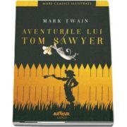 Aventurile lui Tom Sawyer de Mark Twain - Colectia Mari Clasici Ilustrati