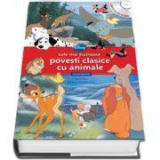 Cele mai frumoase povesti clasice cu animale - Carte cu CD audio (Lectura - Stela Popescu) - colectia Disney