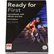 Ready for First, coursebook with eBook and key de Roy Norris (3rd Edition)